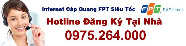 tổng đài đăng ký cáp quang FPT