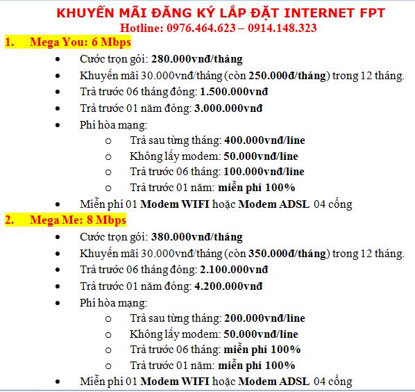 lắp mạng fpt tại quận Tân Phú