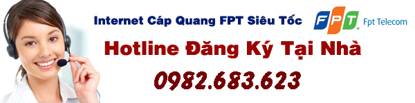 tổng đài lắp đặt internet FPT quận 1