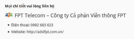 Cáp quang FPT quận Nam Từ Liêm